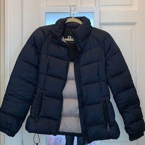 Add Navy Blue Puffer Jacket!